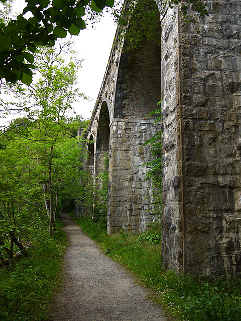 Railway Viaduct in the Pass of Killiecrankie
