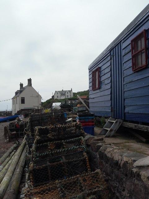 Fisherman's Hut, St Abbs Harbour