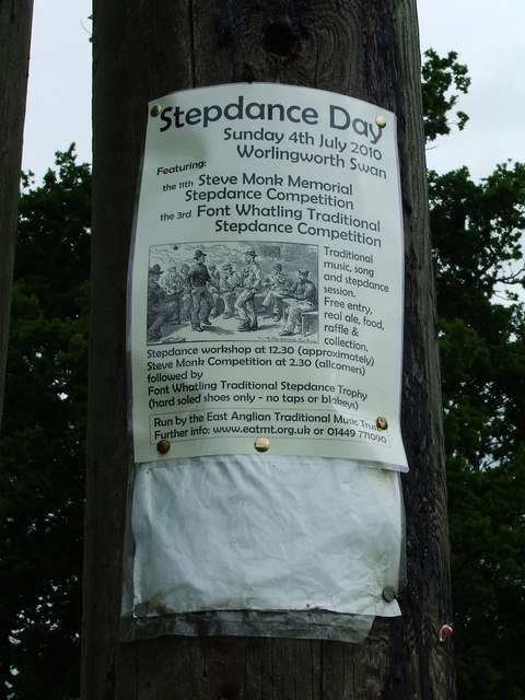 Stepdance Day Poster