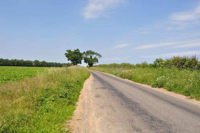 Road North of Fakenham