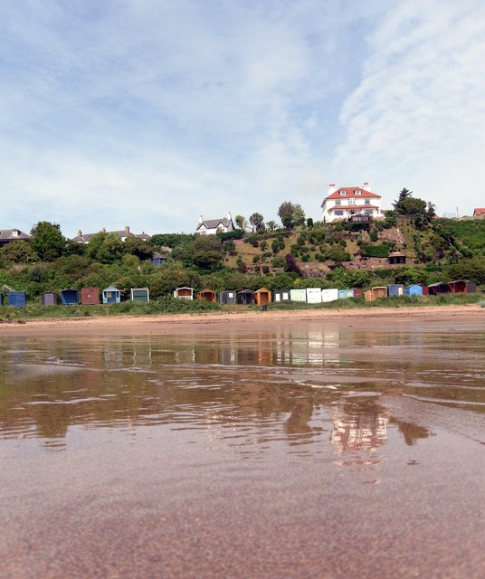Coldingham Sands and Beach Huts
