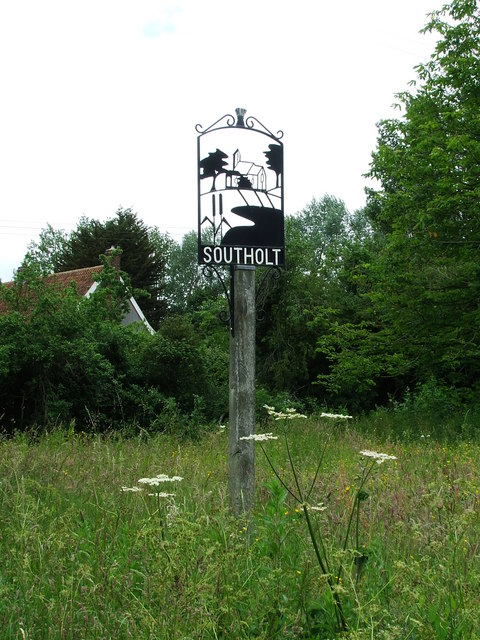 Southolt Village Sign