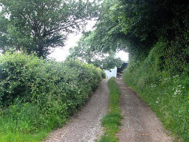 Driveway to Gate Farm