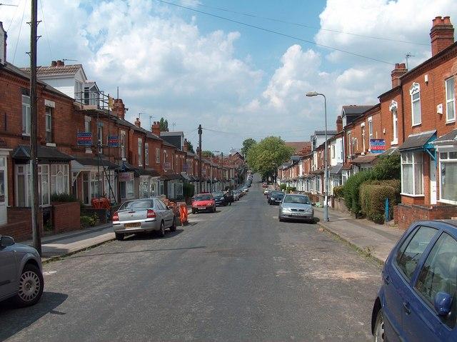 Hubert Road, Selly Oak, Birmingham