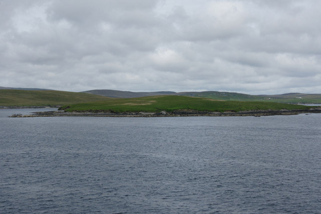 Orfasay, south Yell Sound