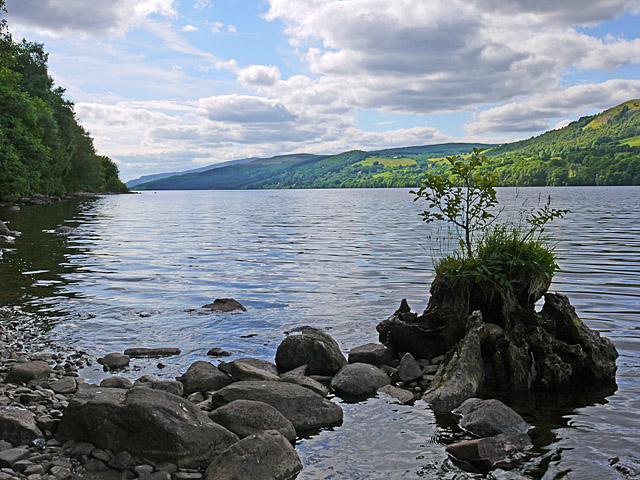 South shore of Loch Tummel