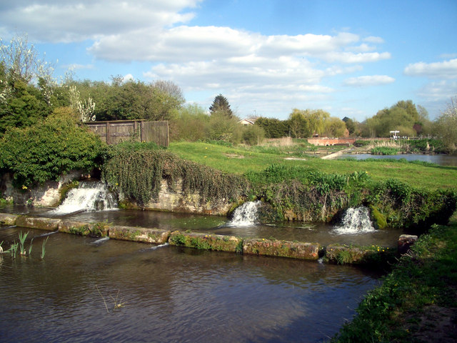 Waterfalls in the Cress Beds