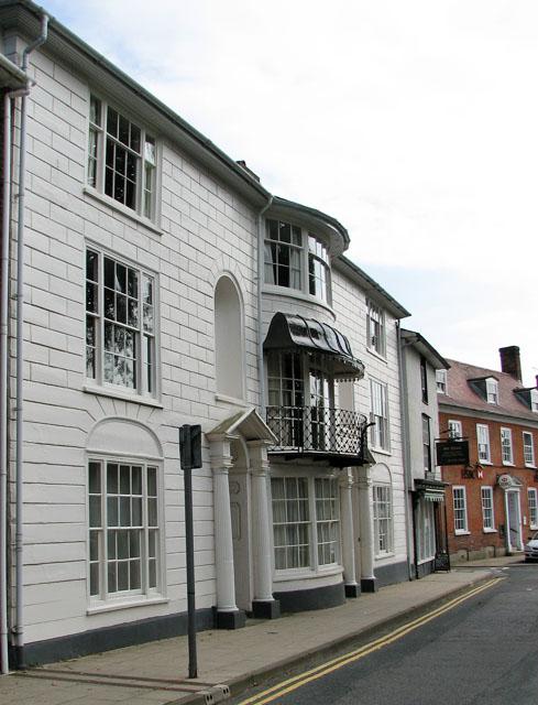 Houses in Church Street, Framlingham