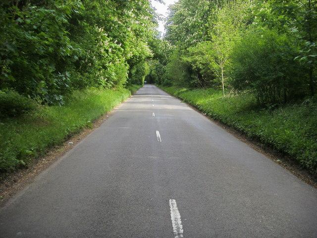 Lane heading to Thornton