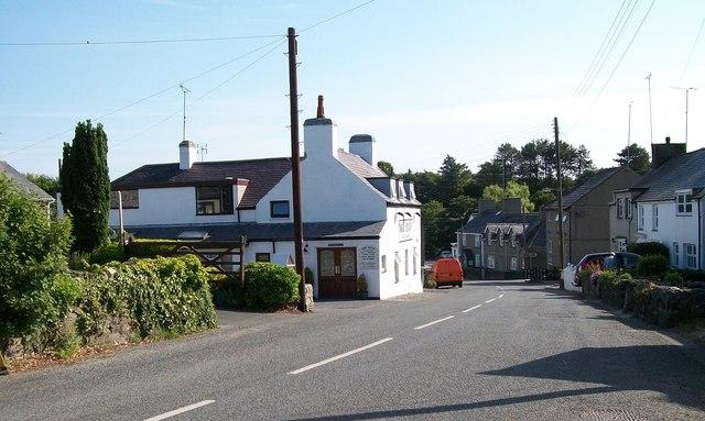 View downhill towards the Ship Inn