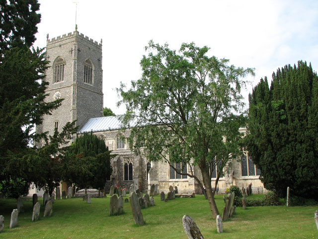 St Michael's church in Framlingham