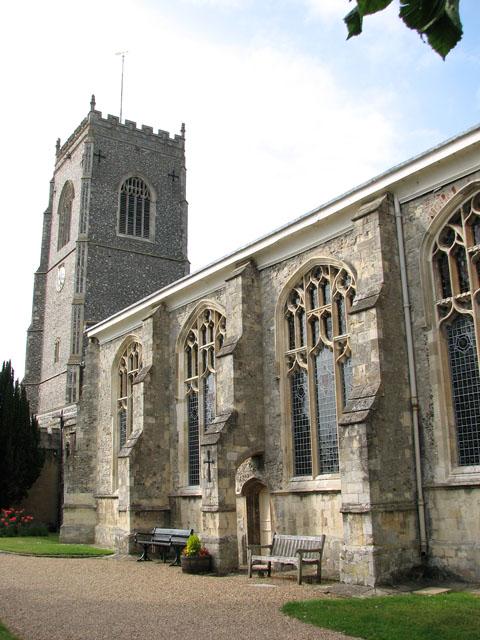 St Michael's church in Framlingham