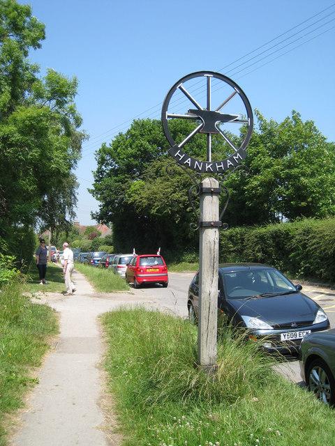 Hankham Village Sign