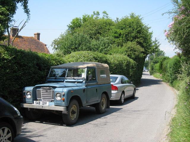 Land Rover on Hankham Street
