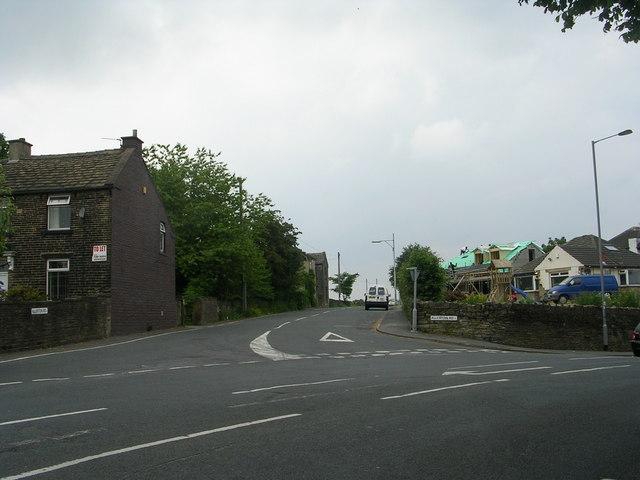 Allerton Road - viewed from Prune Park Lane