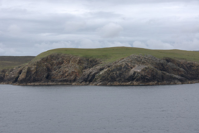 Point of Whitehill from the sea