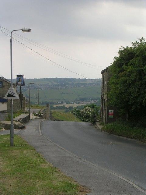 Allerton Lane - viewed from Cote Lane