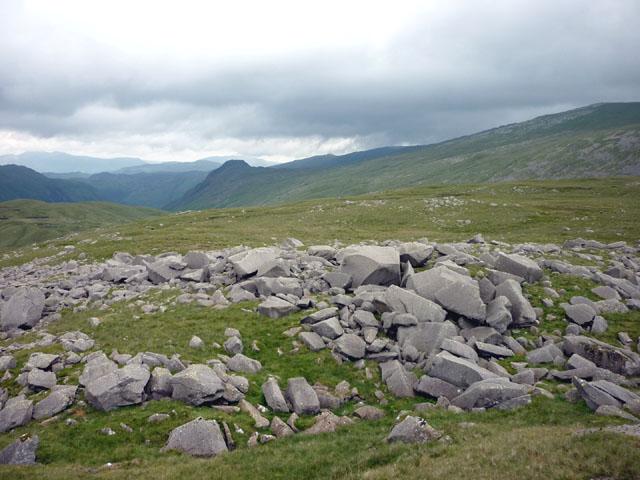 Shattered outcrops, Martcrag Moor