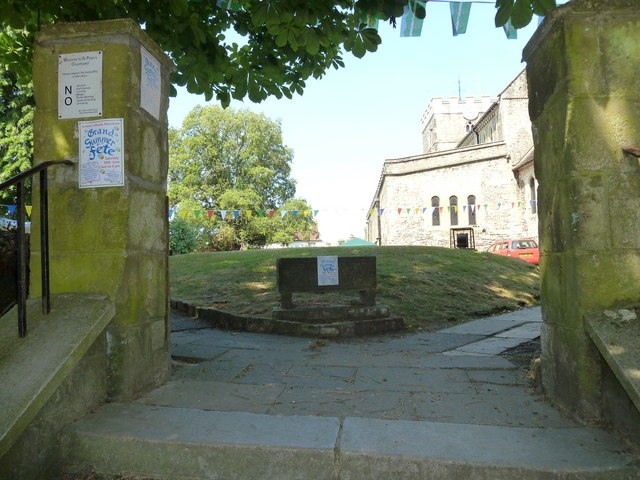 Entrance to the 2010 St Peter's Summer Fête