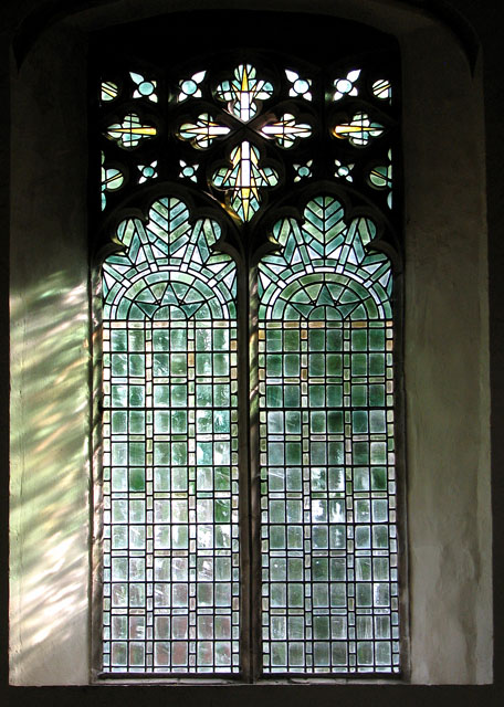 St Michael's church in Framlingham - Cathedral glass window