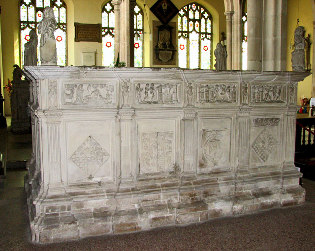St Michael's church in Framlingham - Henry Fitzroy tomb