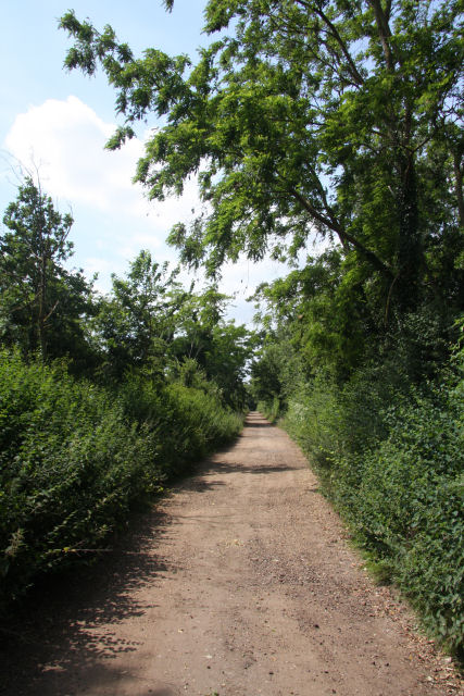 Footpath linking Red Lodge and Kennett