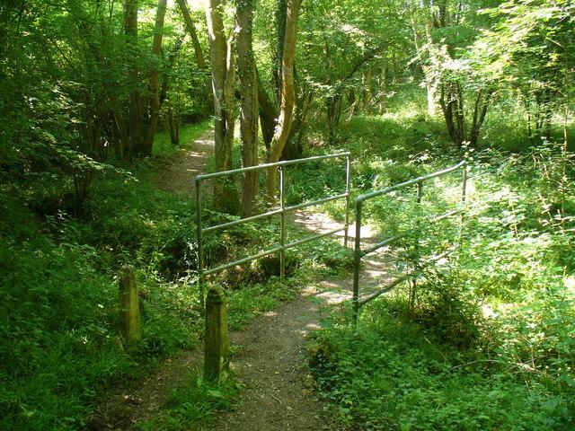 Footbridge in Sayers Land