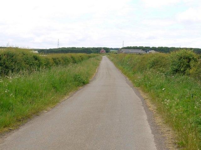 Minor Road to Branxton Moor