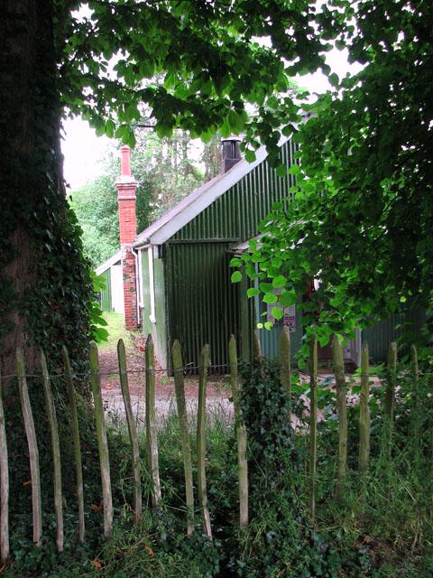 A glimpse of Ufford village hall