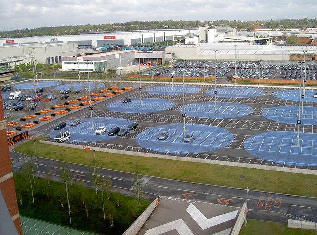Car park, Fort Dunlop