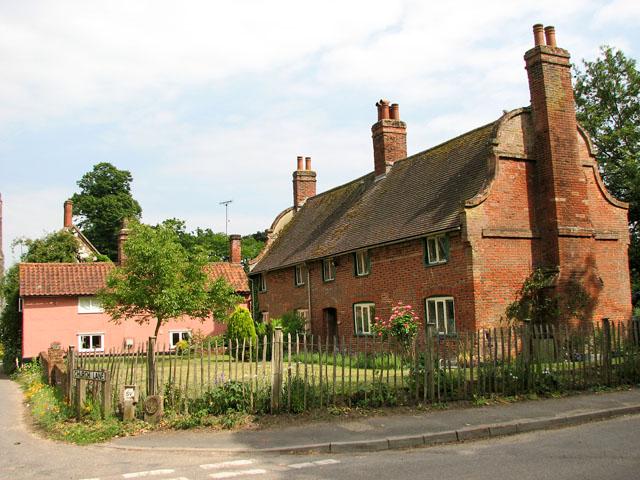 Brick cottage with Dutch gables