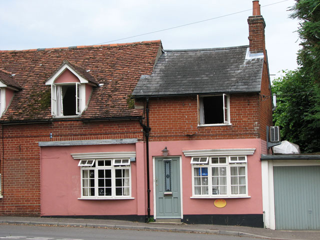 Cottage in Lower Street, Ufford