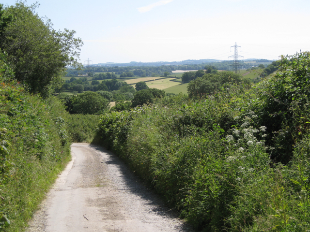 Lane to West Down