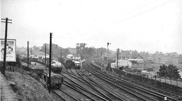 Bucksburn Station and Goods Yard, Aberdeen