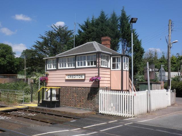 Signal box, Crediton
