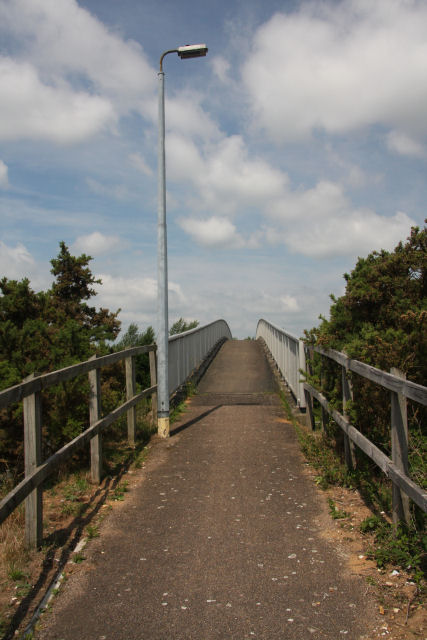 Footbridge over the A11