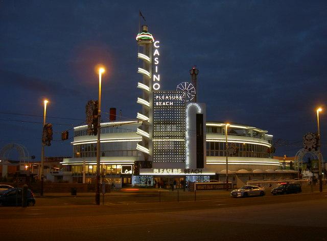 Casino at dusk