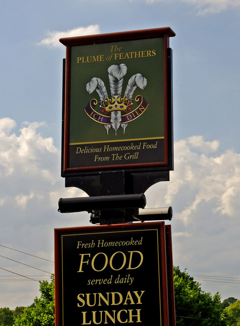 The Plume of Feathers (inn sign)