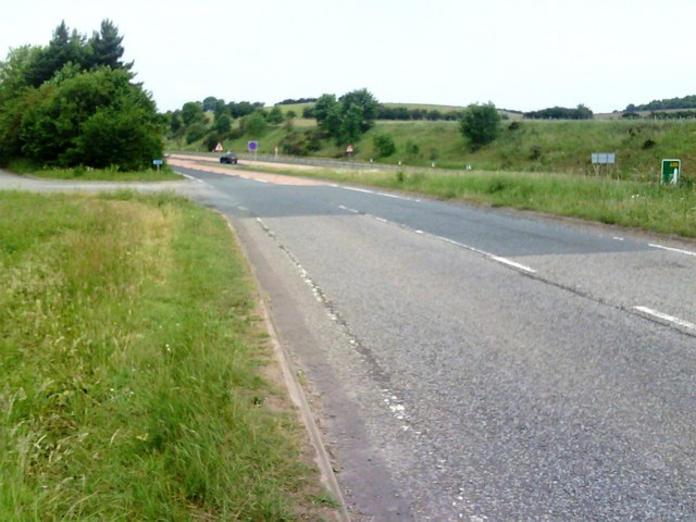 Junction of B6542 and A66