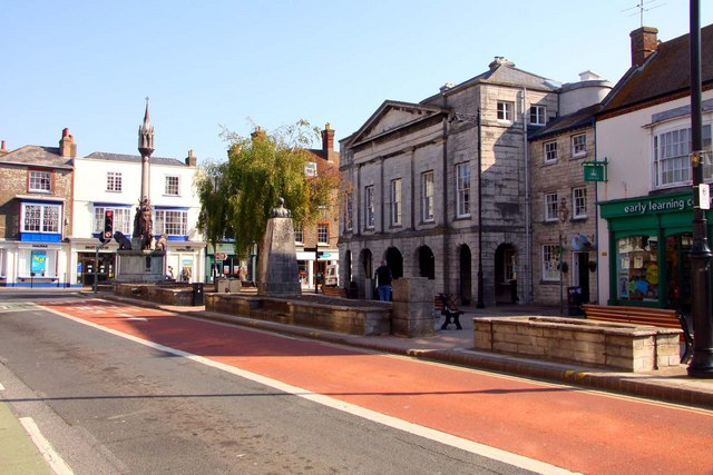 St James's Square in Newport