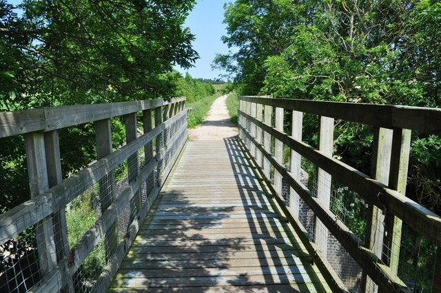 Footbridge on Pilgrims Way