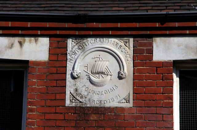 The former Newport Grammar School