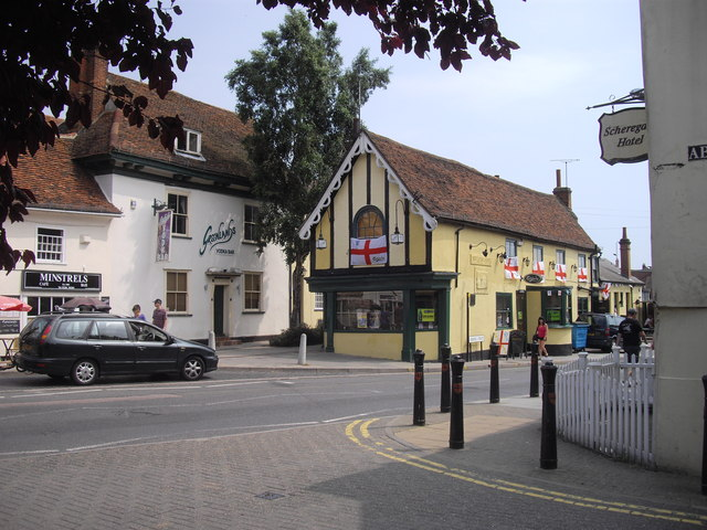 The Brewers Arms, public house, Osborne Street, Colchester