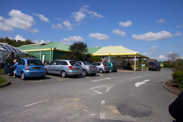 Dalverton Garden Centre in Apse Heath