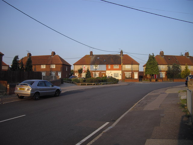 Houses in Goring Road, Colchester