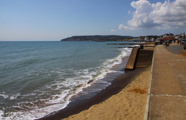 The seafront at Sandown