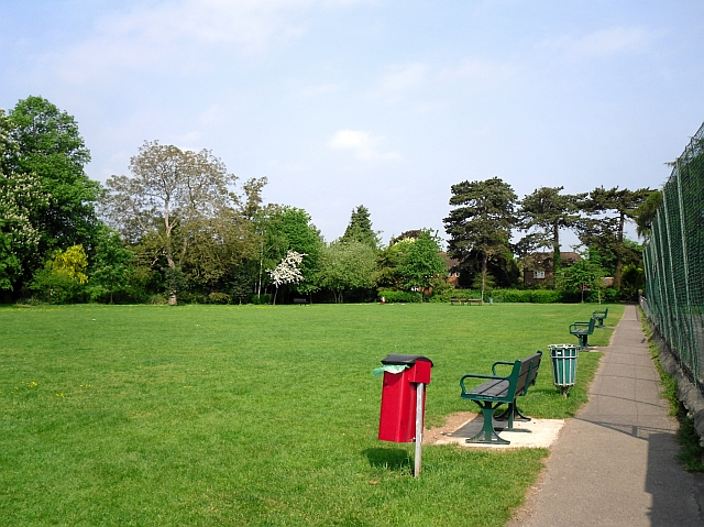 Lawn, Albert Road Recreation Ground