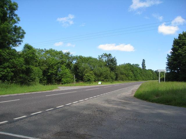 A16 near Calceby