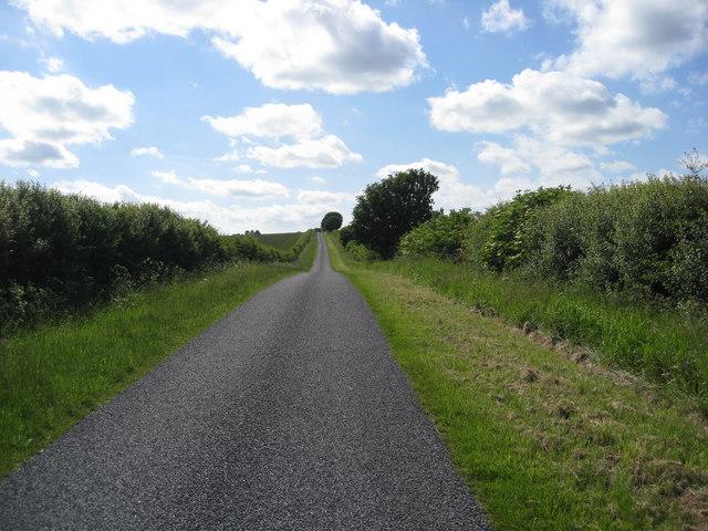Heading towards Maidenwell