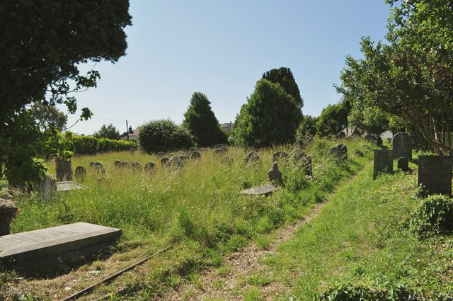 Bideford Public Cemetery on Old Town